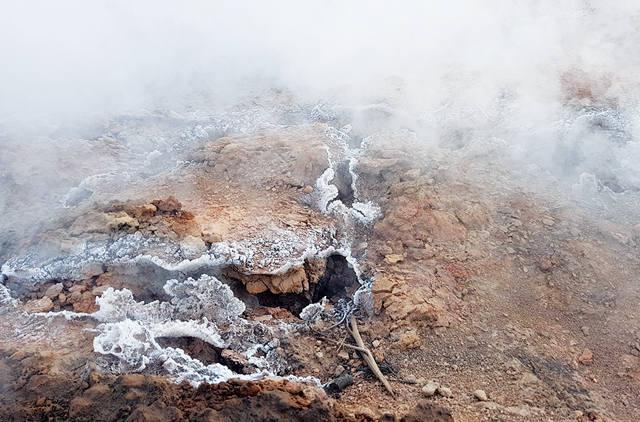Эндогенный пожар, тлеющий уголь
