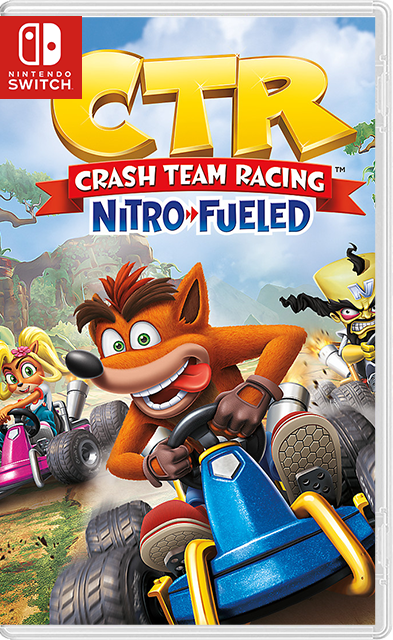 Crash Team Racing Nitro-Fueled Switch NSP