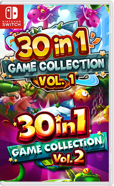 30-in-1 Game Collection: Volume I and II Switch NSP - Switch