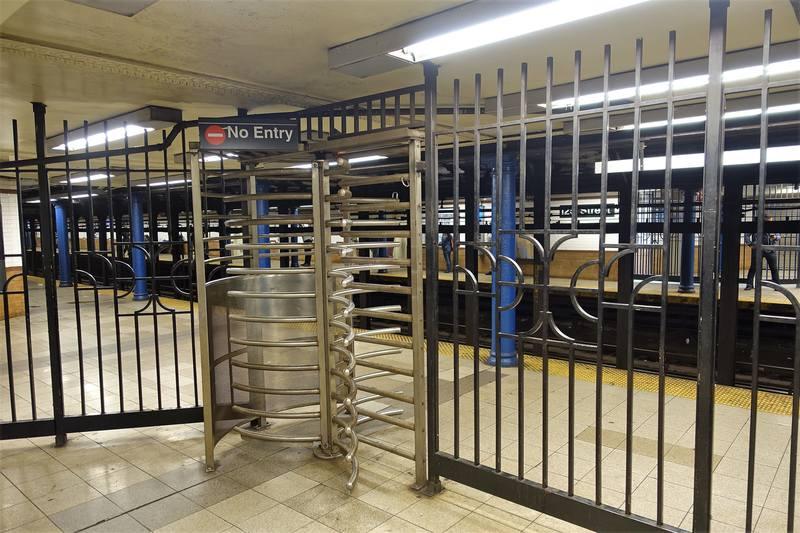 Подземка  Нью-Йорка