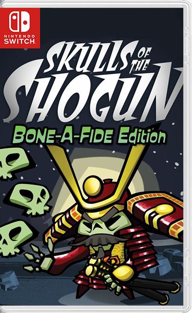Skulls of the Shogun: Bone-A-Fide Edition Switch NSP