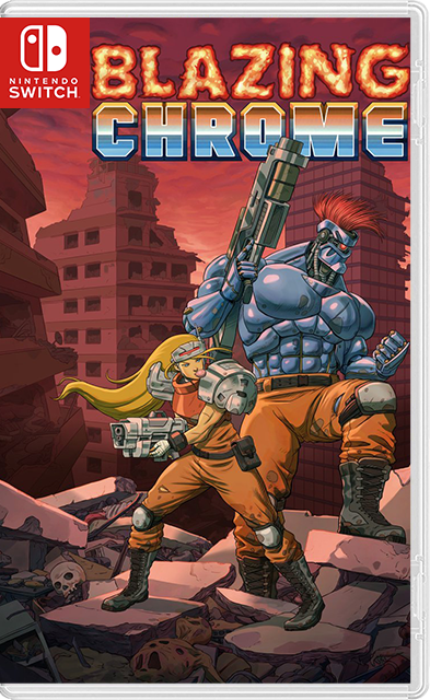 Blazing Chrome Switch NSP