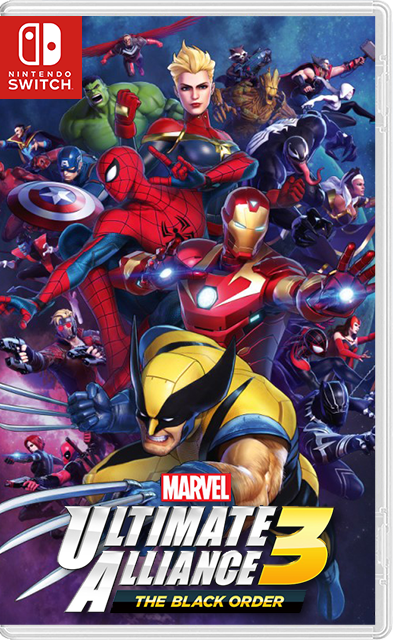 MARVEL ULTIMATE ALLIANCE 3: The Black Order Switch NSP XCI