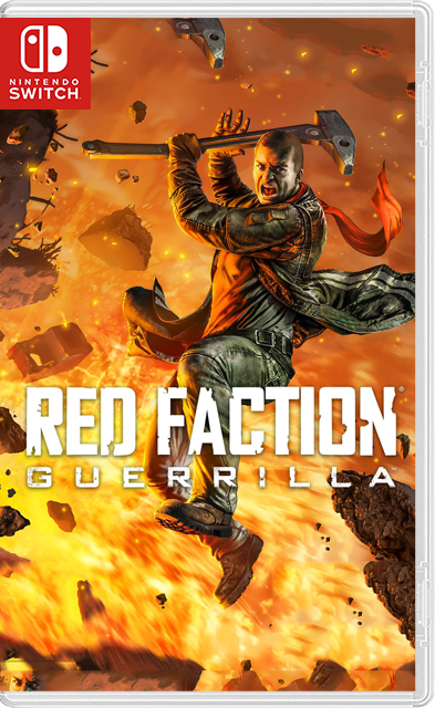Red Faction Guerrilla Re-Mars-tered Switch NSP