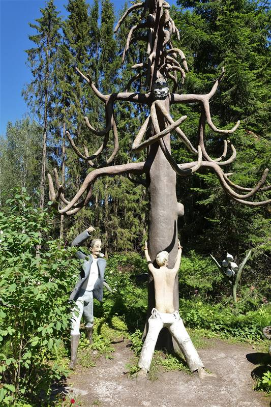 Парк скульптур в Париккала