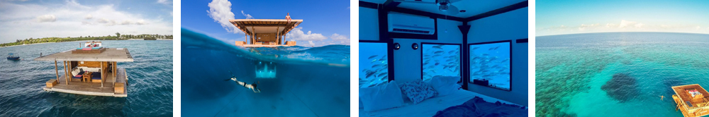 The Manta Resort- Самые необычные отели мира