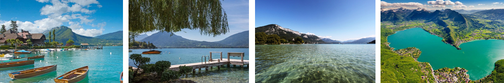 Озеро Анси во Франции