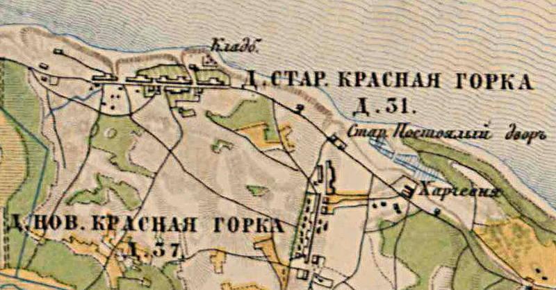 Krasnaya Gorka 1885