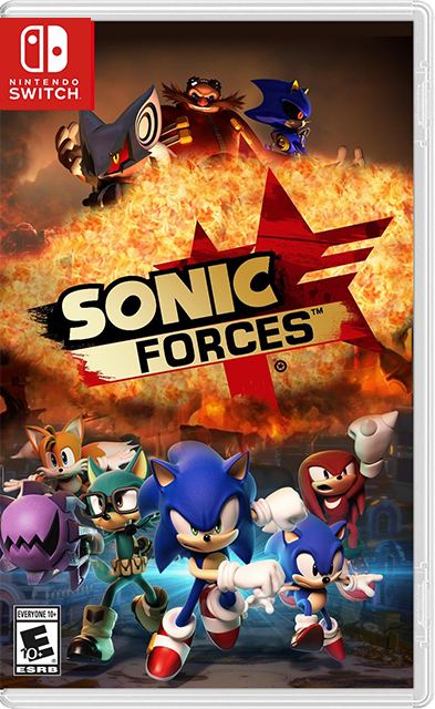 Sonic Forces Switch Xci Nsp