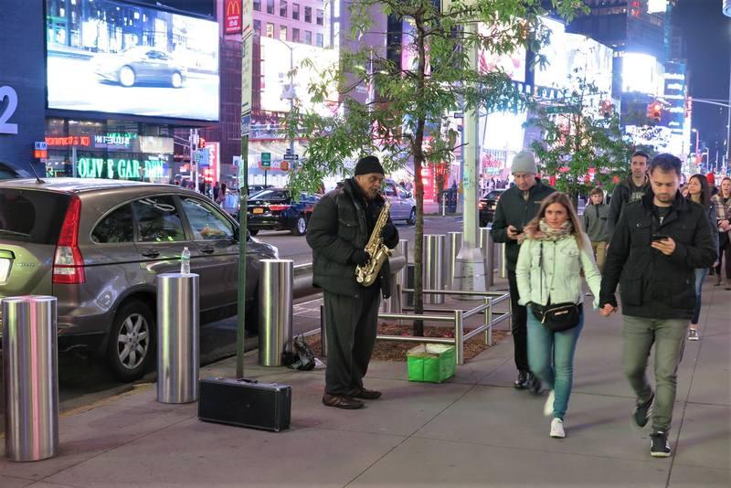 Вечерний Нью-Йорк