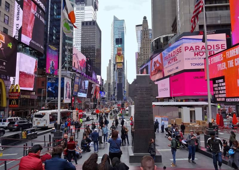 Таймс-сквер  Нью-Йорка