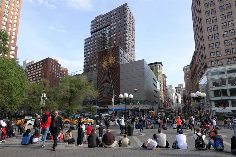 Юнион-сквер  Нью-Йорка