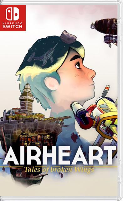 Airheart :Tales of Broken Wings Switch NSP