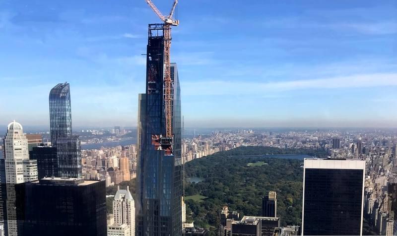 Нью-Йорк сверху