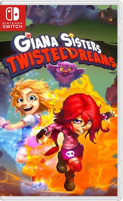 Giana Sisters: Twisted Dreams – Owltimate Edition Switch NSP