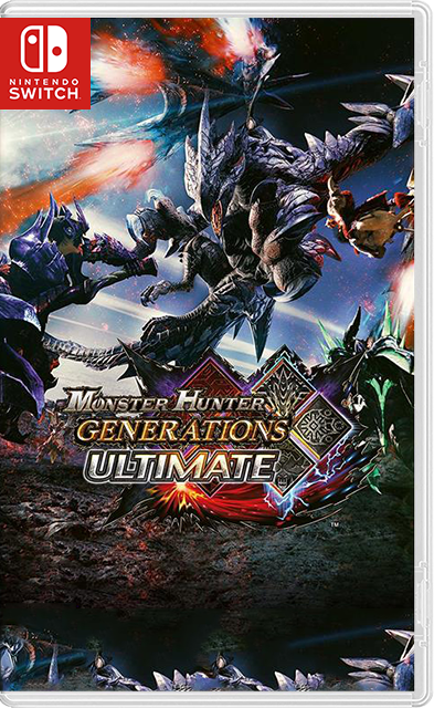Monster Hunter Generations Ultimate SWITCH XCI + Nsp