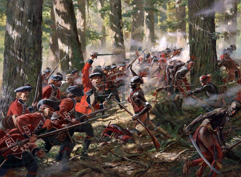 война белых и индейцев