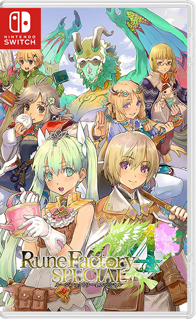 Rune Factory 4 Special Switch NSP
