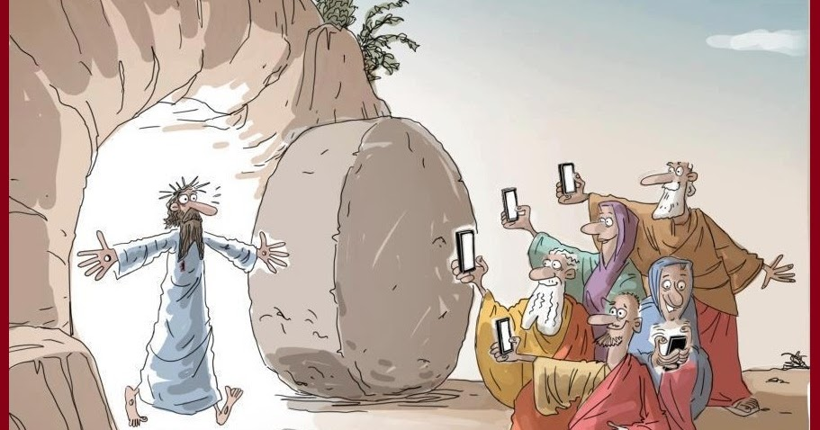 Смешные картинки иисус воскрес