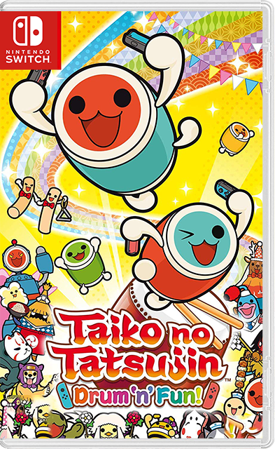 Taiko no Tatsujin: Drum'n'Fun! Switch NSP - Switch-xci com