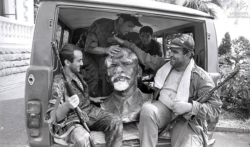 Ленин и абхазы