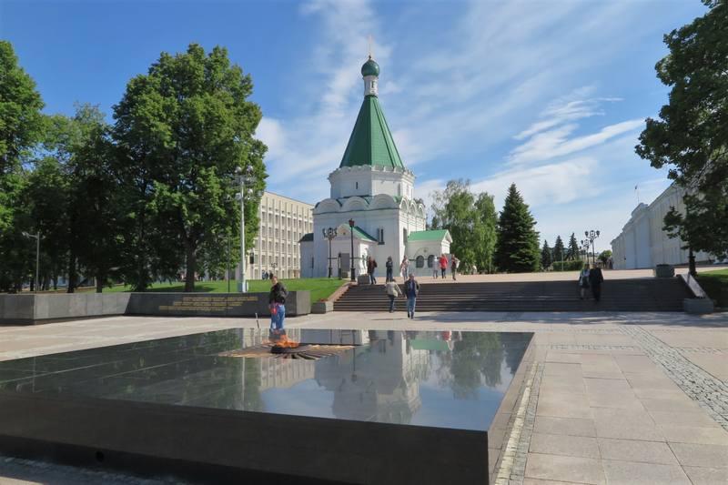 Собор  Архангела Михаила в Нижегородском кремле