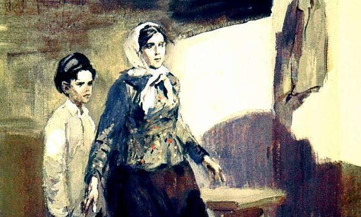 В этот день родня убила Павлика Морозова за деньги... diafilm-15