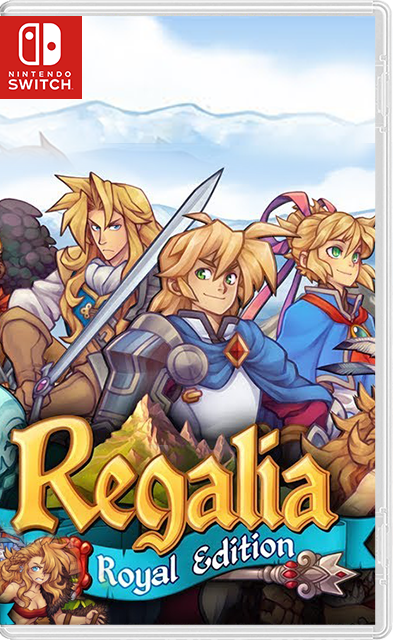 Regalia: Of Men and Monarchs Royal Edition Switch NSP