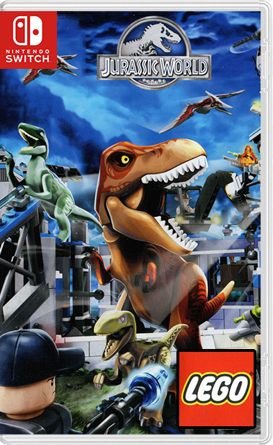 LEGO Jurassic World Switch NSP XCI