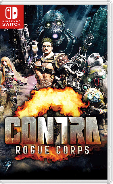 Contra Rogue Corps Switch NSP XCI