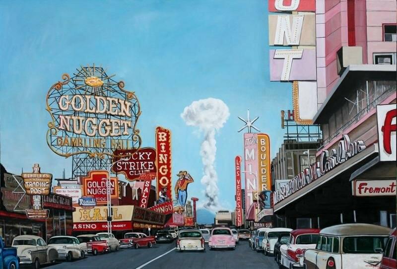 1953 Las Vegas Mushroom Cloud