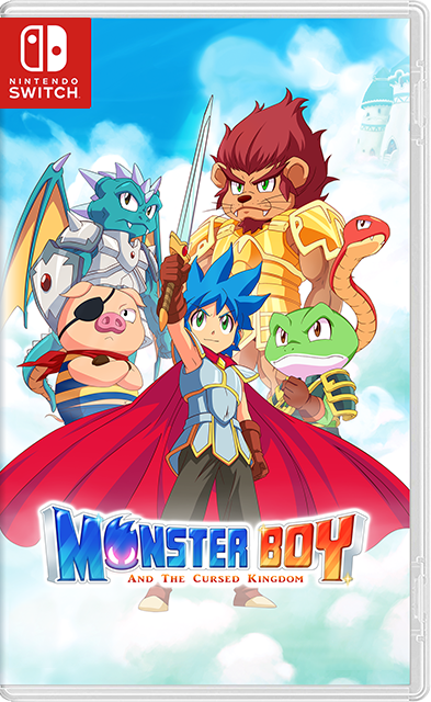 Monster Boy and the Cursed Kingdom Switch XCI NSP