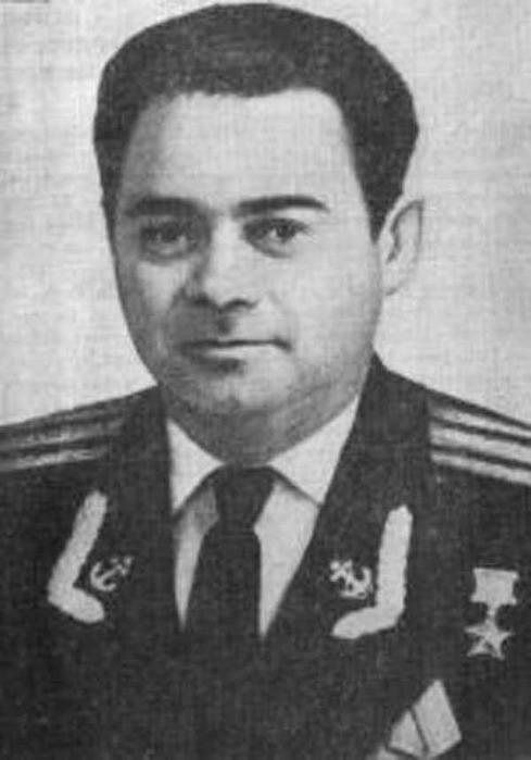 капитан 2 ранга Сысоев Ю. А.