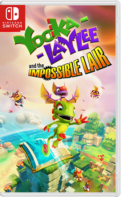 Yooka-Laylee and the Impossible Lair Switch NSP XCI
