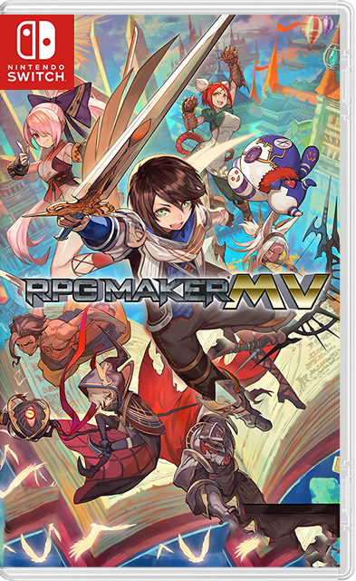 RPGMaker MV Trinity + Player Switch NSP