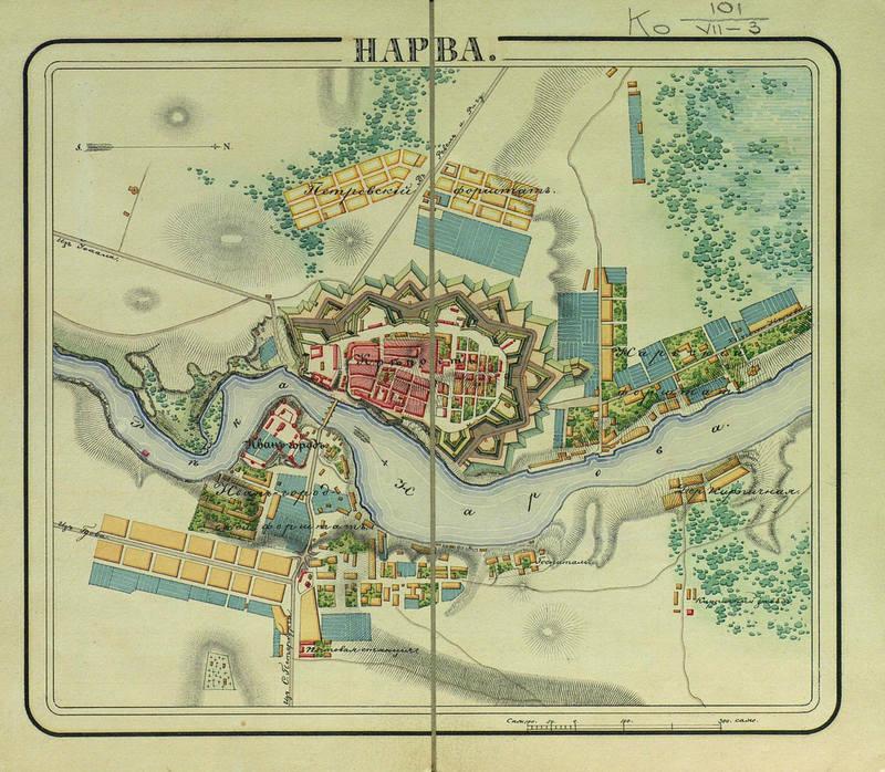 Narva fort