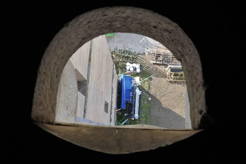 Туалет в Нарвском замке