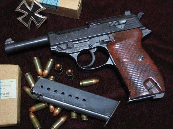 Пистолет «Вальтер», как понты фронтовиков Walther P38