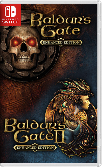 Baldur's Gate & Baldur's Gate II: Enhanced Editions Switch NSP XCI