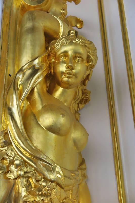 Залы Екатерининского дворца