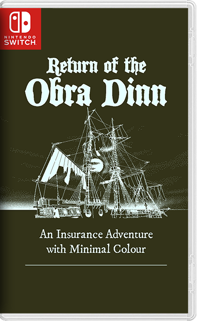 Return of the Obra Dinn Switch NSP XCI
