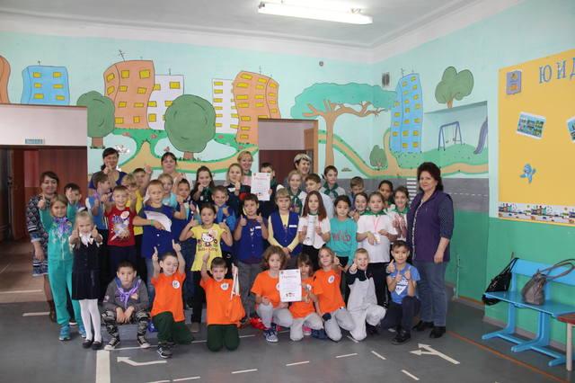 Городской конкурс по профилактике ДДТТ «Дорожный лабиринт»