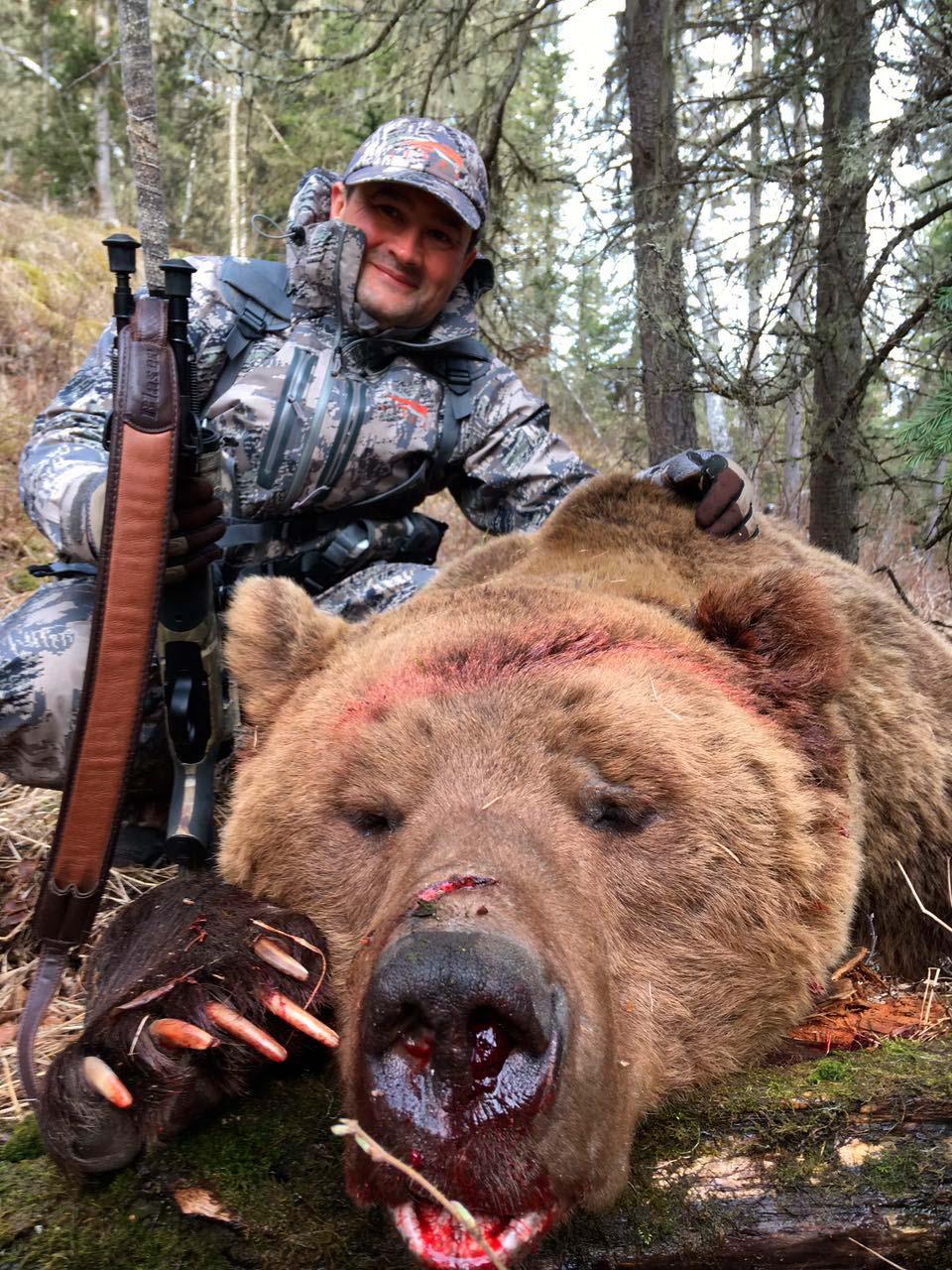 Отчет о добыче медведя