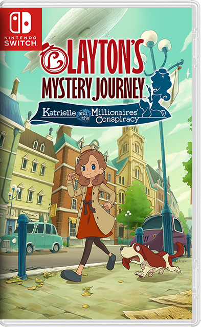 LAYTON'S MYSTERY JOURNEY: Katrielle and the Millionaires' Conspiracy Deluxe Edition Switch NSP NSZ XCI