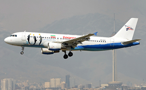 ZagrosAirlines A320 c AirTeamImagescom
