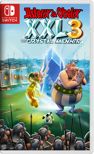 Asterix and Obelix XXL3 The Crystal Menhir Switch NSP XCI