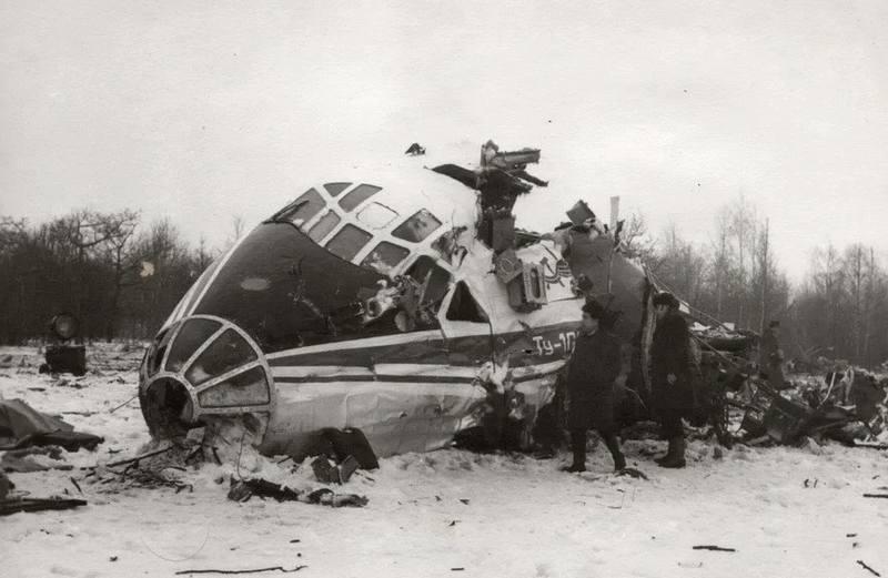 катастрофа Ту-104