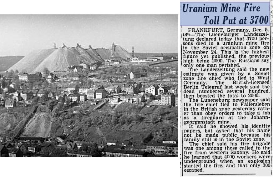 Трагедия на урановом руднике