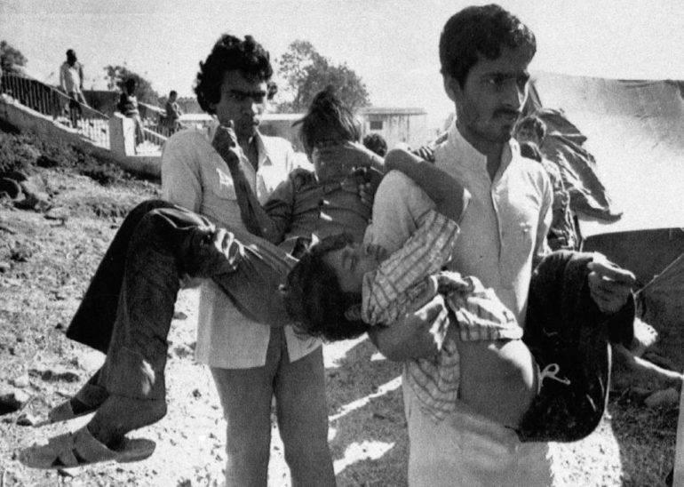 Катастрофа в Бхопал