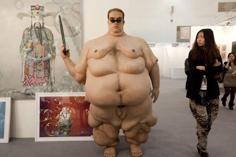 Толстые манекены